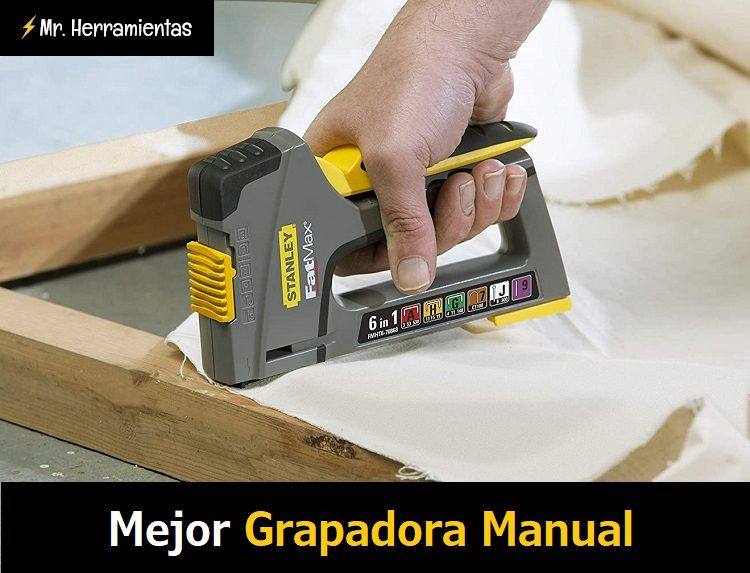 mejor grapadora manual