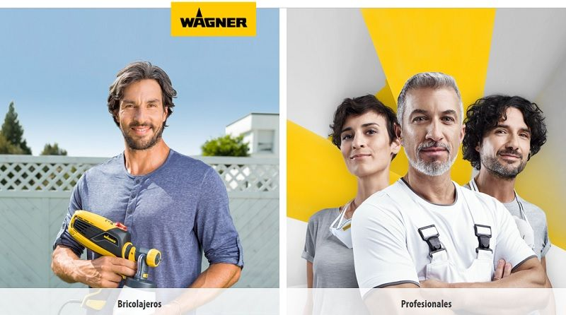 wagner airless profesionales y bricolaje