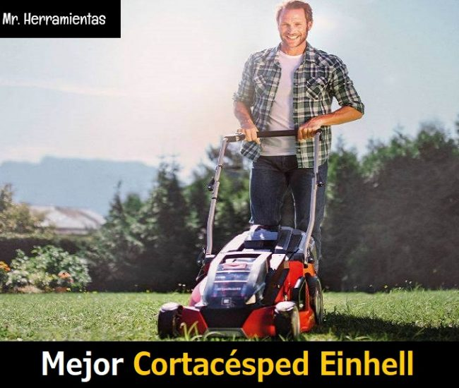 Mejor Cortacésped Einhell